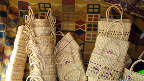 Handicraft Basketry : Mizoram handicrafts