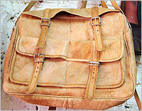Leather craft, leather handicrafts, India, Indian leather Handicrafts, leather products