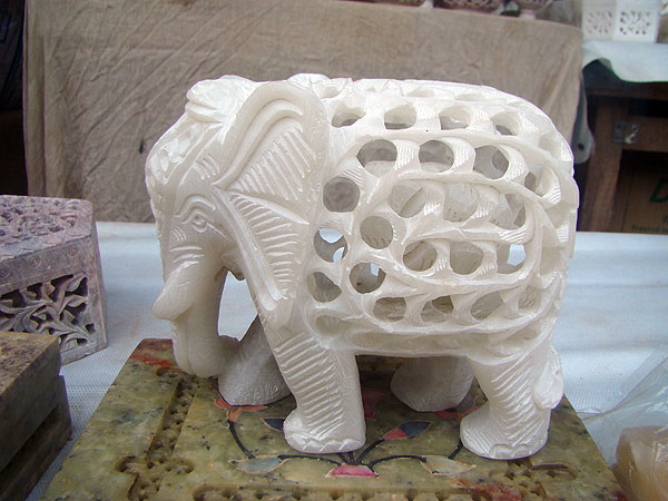 stone crafts elephant