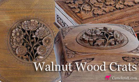 Walnut Wooden Boxes Manufacturer And Exporter In India